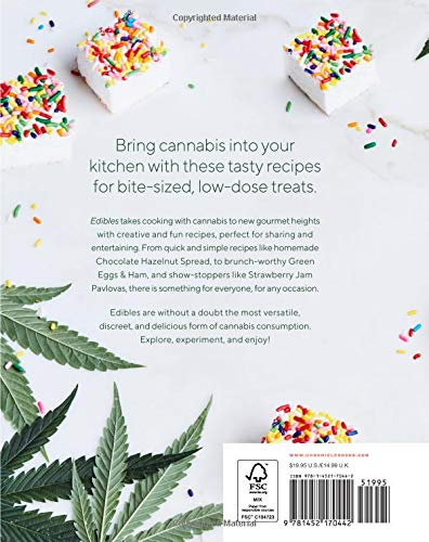 51j%2BOZhd9HL - Edibles: Small Bites for the Modern Cannabis Kitchen (Weed-Infused Treats, Cannabis Cookbook, Sweet and Savory Cannabis Recipes)