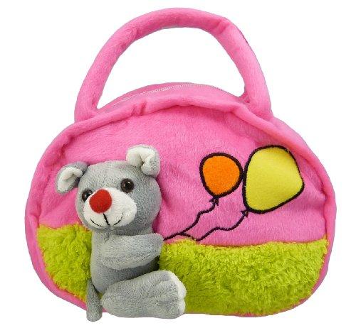 Kindertasche - Maus - für Jungen und Mädchen (Pink) Pink