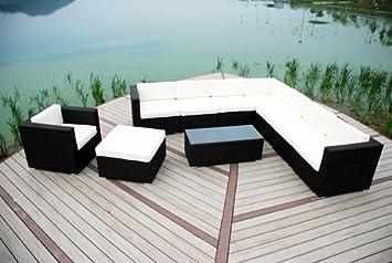 chloe luxury grey rattan garden furniture modular l shaped corner patio sofa armchair furniture