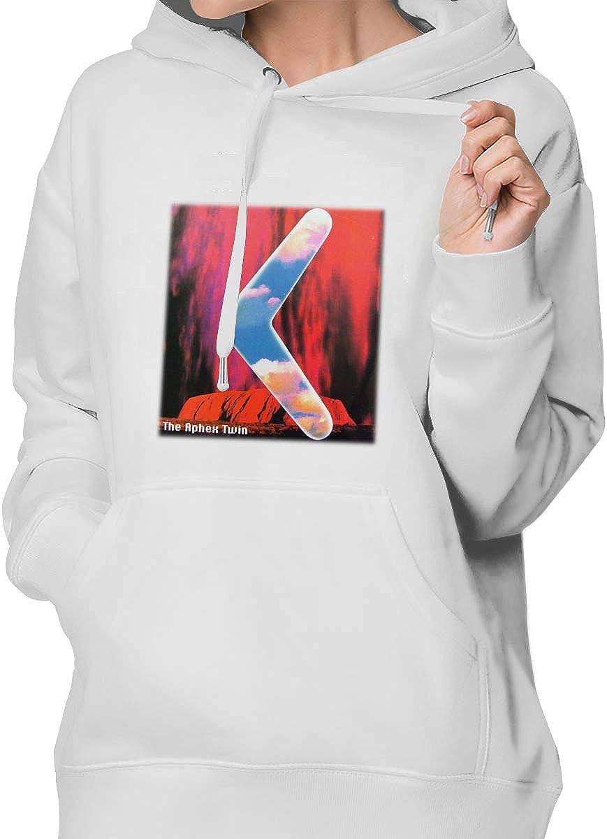 Wokeyia Top Black Hoodie Stylish Hood for Woman Aphex Twin Sweatshirt Sweatshirts