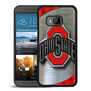 Best Buy Ncaa Big Ten Conference Football Ohio State Buckeyes 9 Black Plastic HTC ONE M9 Protective Case