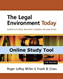 CourseMate (with Business Law Digital Video Library) for Miller/Cross  The Legal Environment Today: Business In Its Ethical, Regulatory, E-Commerce, and Global Setting, 7th Edition