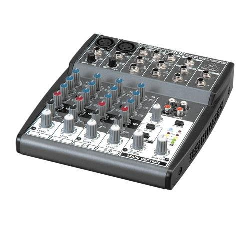Behringer Mixer (Behringer Xenyx 802 Premium 8-Input 2-Bus Mixer with Xenyx Mic Preamps and British)
