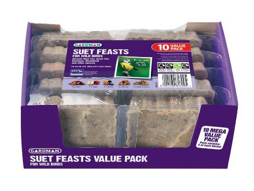 Gardman Suet Feast Value Pack X 10 a04118