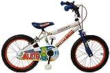 Concept Boy's Little Monster Mountain Bike - White, 16-Inch