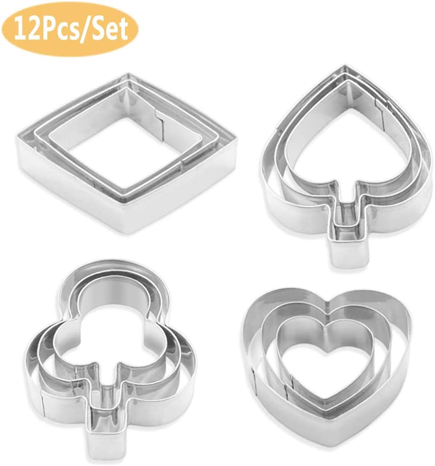 Pack of Multi-Piece Suit Sta-inless Steel Metal Behind Play Toy with Diamond