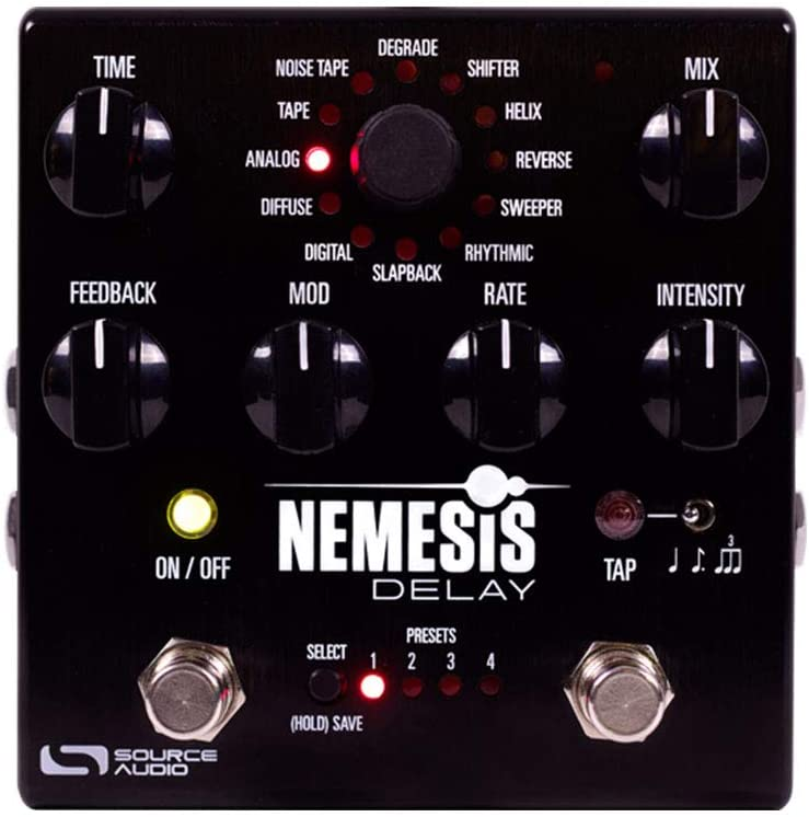 Source Audio SA260 Nemesis Guitar Delay Effects Pedal