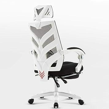 Amazon.com: HEIFEN Silla ergonómica, Home/Oficina Rotación ...