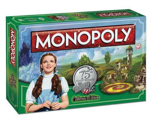 MONOPOLY: The Wizard of Oz 75th Anniversary Collector's -