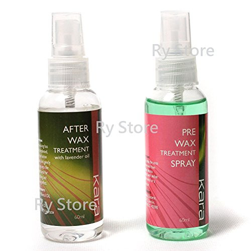 Promotion!! US Seller 2 in 1 Pre After Wax Treatment Spray Before Post Waxing Liquid Hair Removal Skin Care Depilatory Tools 60ml