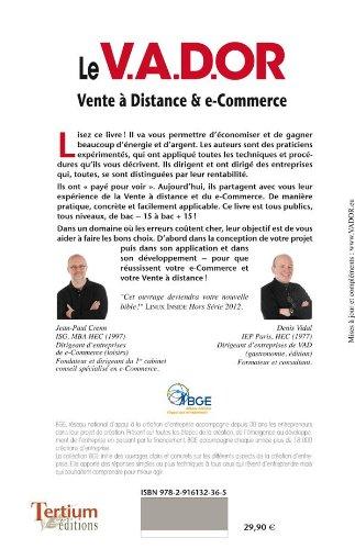 feffd59366be8f Amazon.fr - Le V.A.D.OR Réussir e-commerce et vente à distance - Denis Vidal,  Jean-Paul Crenn - Livres