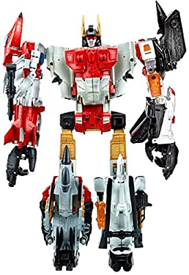 Transformers Generations Combiner Wars Silverbolt, Alpha Bravo, Firefly, Skydive & Air Raid Action Figures [Superion]