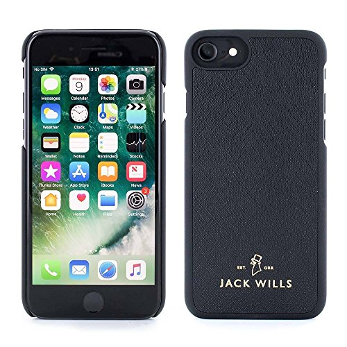 iPhone 7 / 6 Cover, Jack Wills WRAY Saffiano Leather Back Shell Phone Case for Apple iPhone 7 / 6