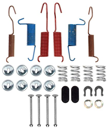 (ACDelco 18K566 Professional Rear Drum Brake Spring Kit with Springs, Pins, Retainers, Washers, and Caps)