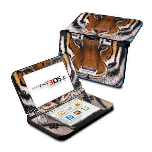 (Siberian Tiger - DecalGirl Sticker Wrap Skin Compatible with Nintendo Original 3DS XL )