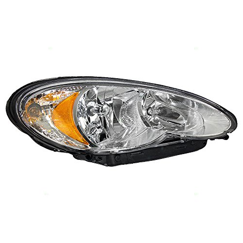 (Passengers Headlight Headlamp Replacement for Chrysler 5116042AB)