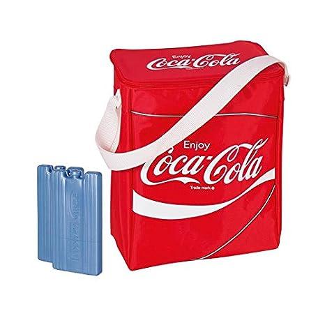 EZetil Bolsa Nevera Coca Cola Classic 14 en Rojo con 2 ...
