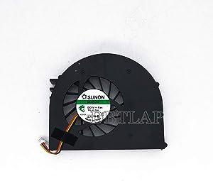 DBTLAP Laptop CPU Fan Compatible for Dell Inspiron 15 15R M5110 N5110 15RD Ins15RD m511r VOSTRO 3550 V3550 KSB0505HA MF60090V1-C210-G99 Laptop