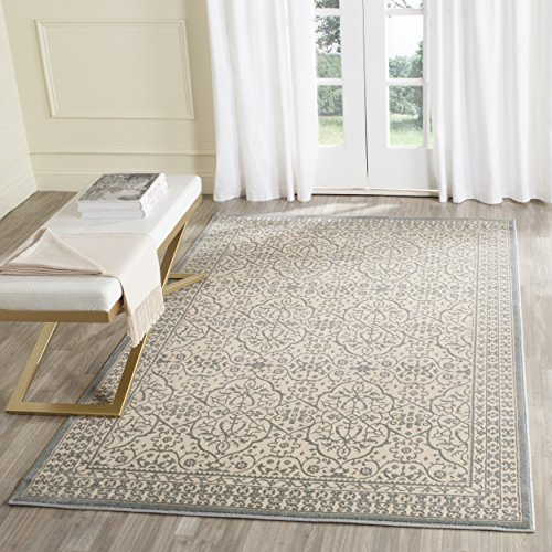 Safavieh Brilliance Collection BRL508A Cream and Sage Area Rug (4' x 6') ()