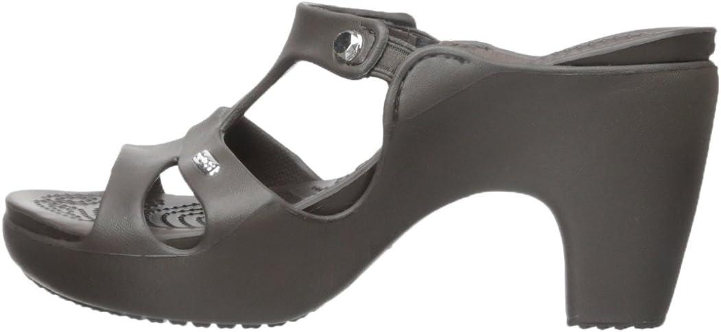 Crocs Womens Cyprus V Heel Sandal