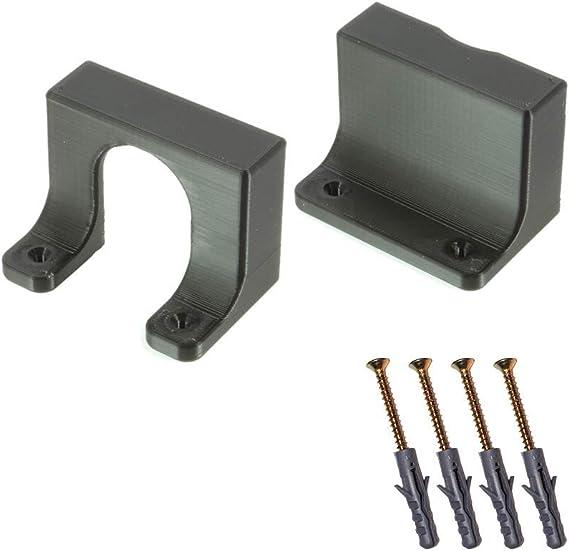 Steckdosenleiste Halterung Für Ikea Koppla Mehrfachsteckdose Wandhalter Schwarz Baumarkt