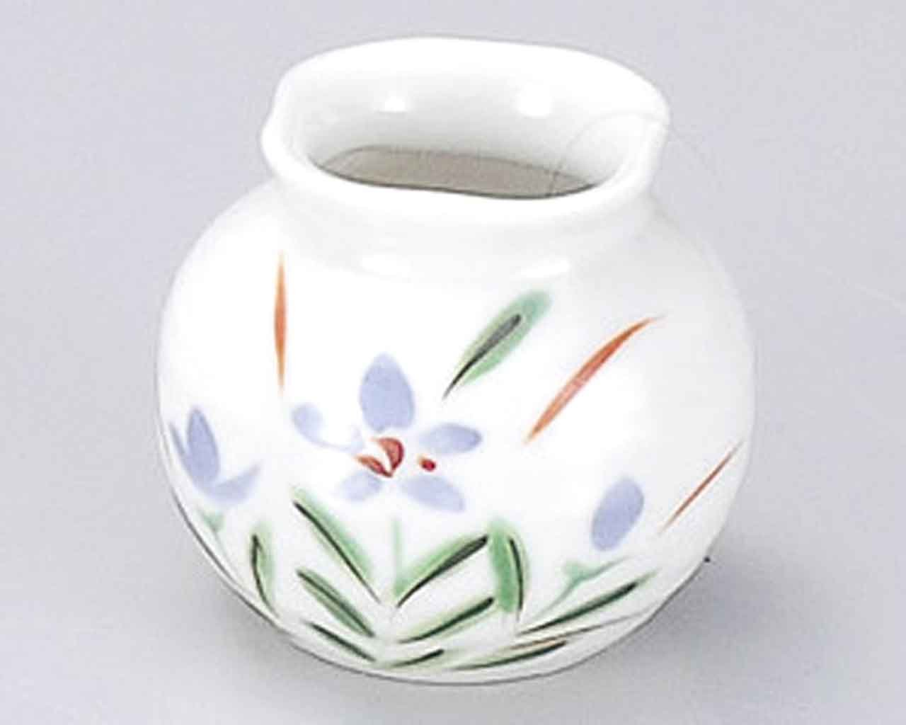Akikusa 1.9inch Set of 5 Toothpick holders White porcelain Made in Japan by Watou.asia