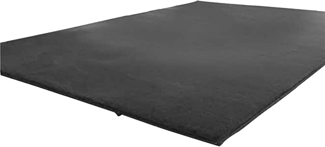 Regal In House Velvet Memoryfoam Thick Carpet For Living Room - 100x120 cm - Grey