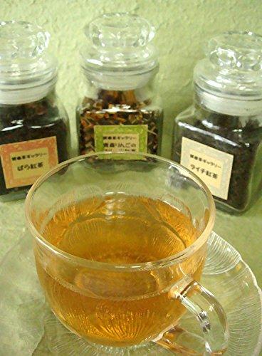 [Farewell gift] flavor tea three sets (of rose tea Aomori apple fruit tea and lychee tea) farewell graduation admission gift [tea gift] by Health tea gallery (Image #2)