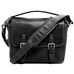 Ona - The Berlin Ii - Camera Messenger Bag - Black Leather (Ona028bl-2)