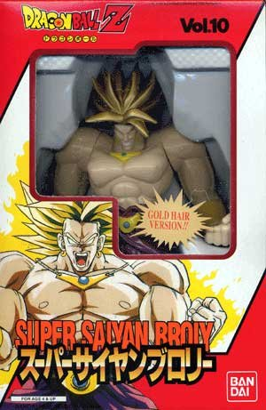 Super Battle Collection (Dragonball Z Bandai Japanese Super Battle Collection Action Figure Vol. 10 Super Saiyan Broly)