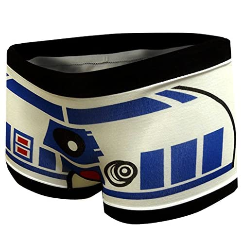 Disney Classic Star Wars R2 D2 Boyshort Panty For Women