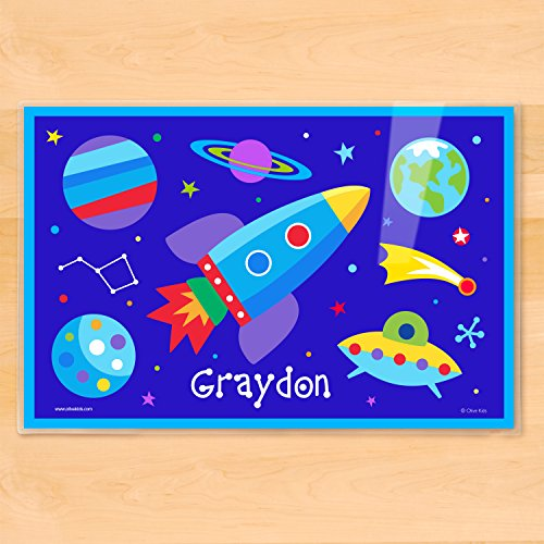 Olive Kids Out of This World Personalized (Olive Kids Personalized Placemat)