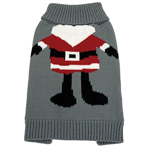 FouFou Dog 62588 Santa Ugly Christmas Sweater for Dogs, X-Large by FouFou Dog