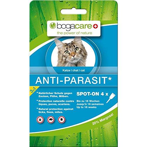 Bogacare UBO0442 Anti-Parasit Spot-On Katze, 4 x 0.75 ml