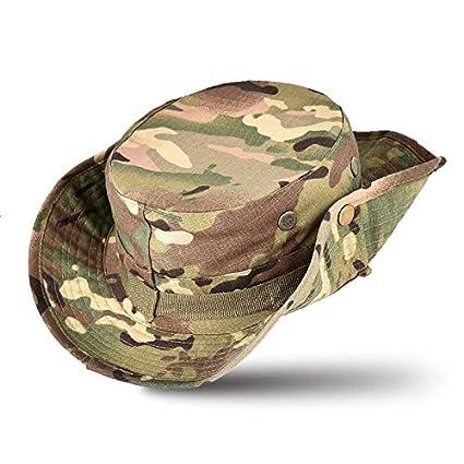 b8bc997dd Amazon.com : Wahha Men's Hats Fishing Hats Boonie hat Sun hat Safari ...