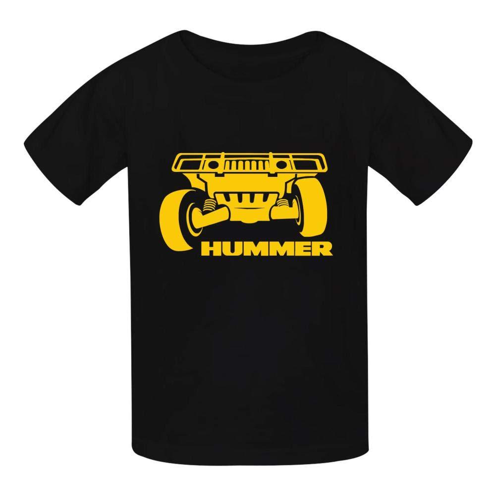 Legend Hummer Car Logo Cute Funny Classic T-Shirt for Boys Girls Black//White//Red//Gray