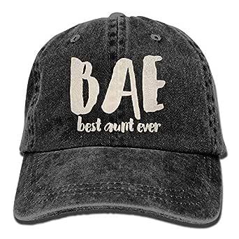 Caps big Bae La Mejor tía Alguna Vez Ajustable Algodón Lavado ...