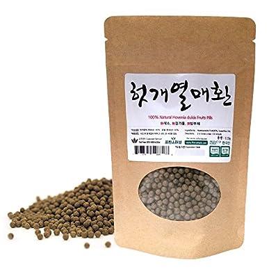 [Medicinal Korean Herbal Pills] 100% Natural Hovenia dulcis Fruits Pills ( Hovenia dulcis Fruits / ???? ? )