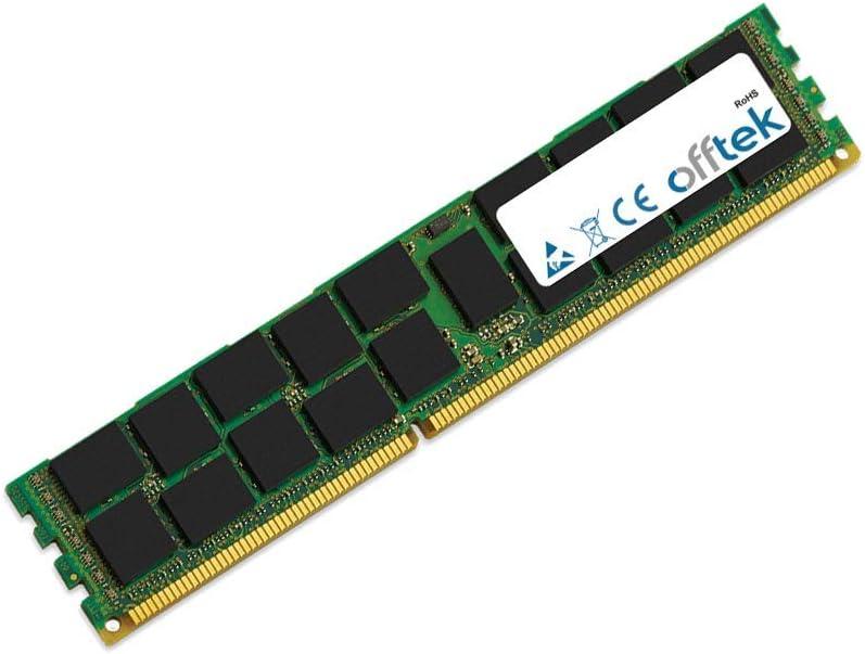 - ECC Registered 1.5v 16GB RAM Memory 240 Pin Dimm OFFTEK PC3-10600 1333Mhz DDR3