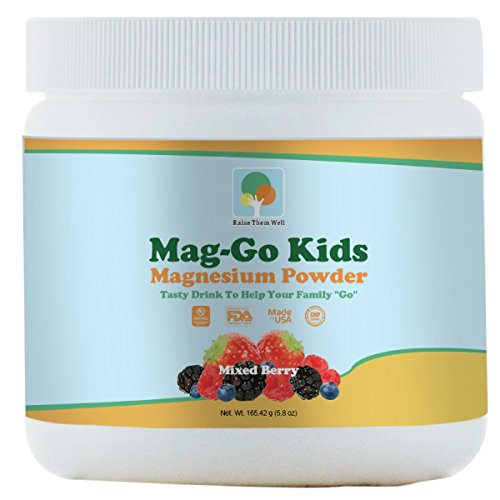Mag-Go Kids (Mixed Berry) - Tasty Magnesium Drink to Help Your Family