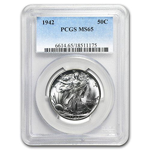 1942 Walking Liberty Half Dollar MS-65 PCGS Half Dollar MS-65 PCGS