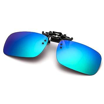 Gafas de Sol con Clip y Lentes Polarizadas, Clip Gafas de Sol Polarizadas, UV400 Anti Reflejante Mejora de la Visión, Durable Lentes de Resina para ...