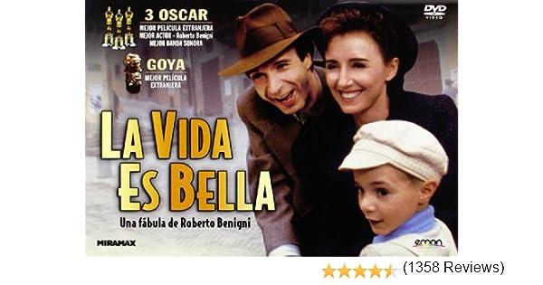 La Vida Es Bella [DVD]: Amazon.es: Roberto Benigni, Roberto ...