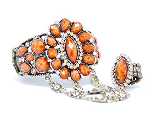 Fashion Trendy Hand Chain / Slave Bracelet / Bracelet&Rin...
