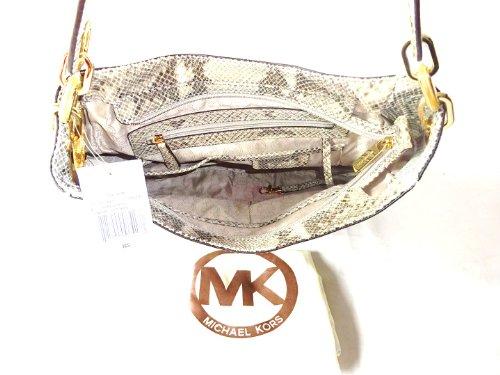 Michael Kors Medium Fulton Hobo in Angora Embellished, 30F2TFTH6E