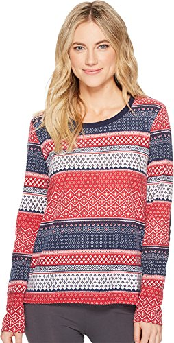 Jockey Thermal - Jockey Women's Thermal Long Sleeve Top, Modern Fair Isle, L