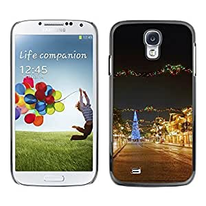 YOYO Slim PC / Aluminium Case Cover Armor Shell Portection //Christmas Holiday Town 1231 //Samsung Galaxy S4