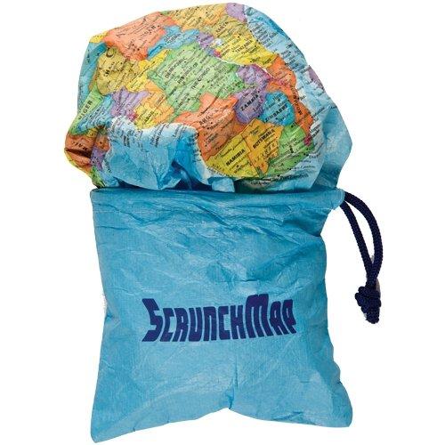 UPC 859654003345, World Scrunch Map