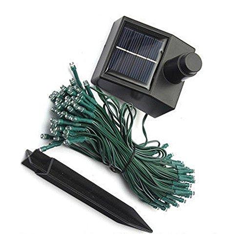 Thegood88 60 LED Blue 10M Solar String Fairy Lights for Xmas Outdoor Party Graden (Plasma Vs Lcd Monitors)