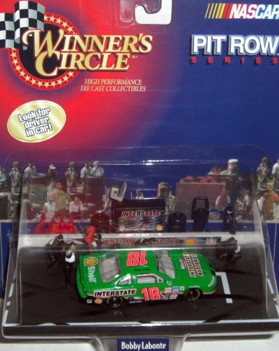 Winner's Circle #18 Bobby Labonte Pit Row Series Die Cast 1:64 Scale - Wallace Rusty Race